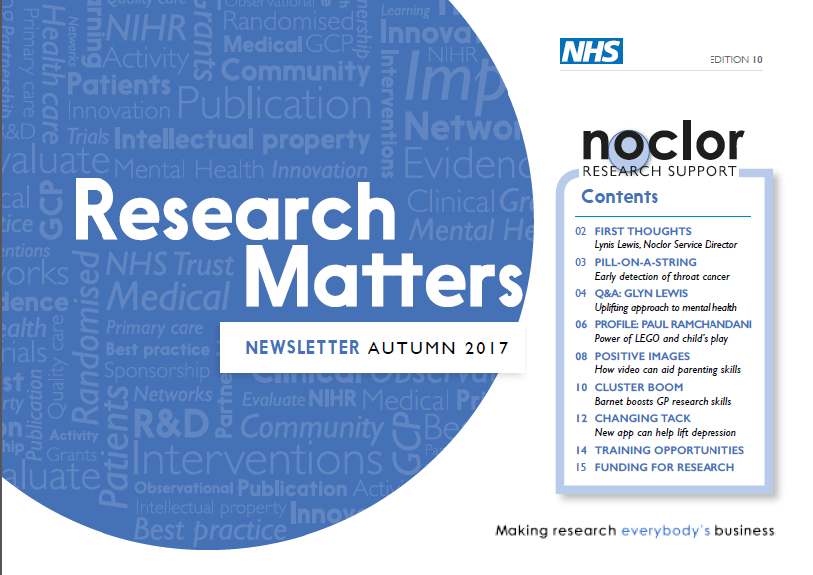 Noclor newsletter autumn 2017 cover
